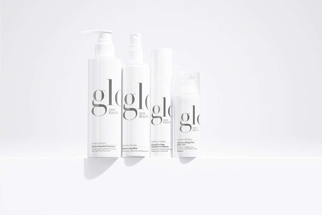 Hydrating Gel Cleanser, Balancing Mist, Conditioning Hydration Cream & Moisturizing Tint SPF 30+
